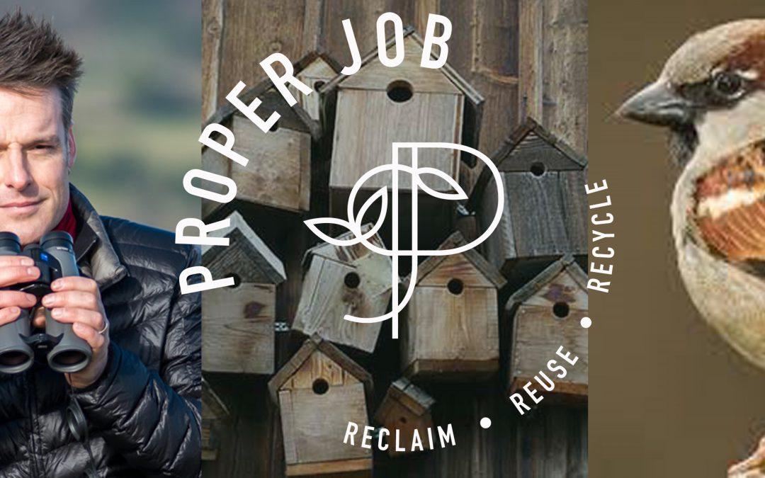 Bird Box making Workshop with Nick Baker