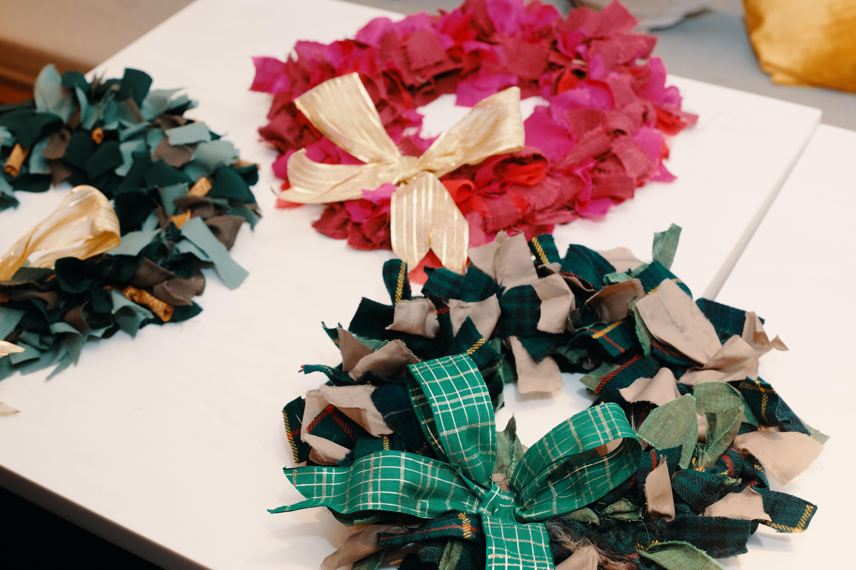 Sustainable Christmas Wreath & Cracker Making Workshop